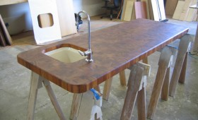 Custom Butcher Block Bel Air