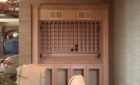 Harbor View Hills – Wine Storage Cabinet